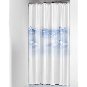 Κουρτίνα Μπάνιου Πλαστική (180x200) SealSkin Flamingo 488acd94eda