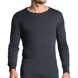 Heat Holders Men Thermal Long Sleeve Vest - Charcoal 009c9d6116a