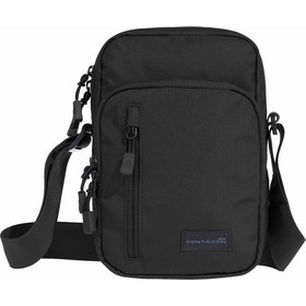 4bb6afc15c Τσαντάκι Ώμου Pentagon Kleos Bag Black K16096-01