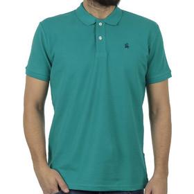 3dd22a1739d1 Ανδρικό Κοντομάνικη Μπλούζα με Γιακά Polo Garage55 GAM200-11119 Πράσινο
