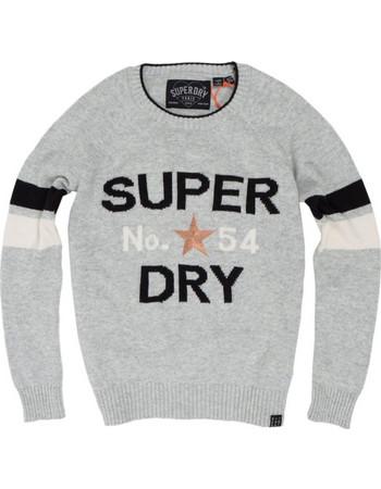 c05be22954f2 Superdry D1 Varsity Intarsia Knit SDG610011NR000000 Γκρι