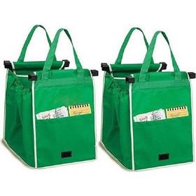 Οικολογικές Τσάντες για Ψώνια - Σετ των 2 τεμ. Επαναλαμβανόμενης Χρήσης c2e51e4743f