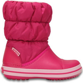 aab1417e71d Παιδικά Προπαιδικά Παπούτσια Crocs Winter Puff Boot Kids Pink 14613-6X0