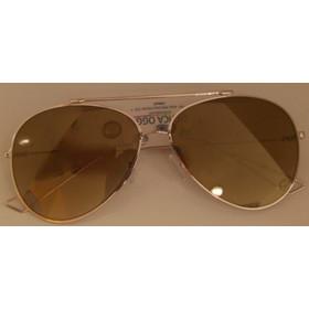 5529057660 Ottica Oggi Χρυσαφί Μεταλλικά Γυαλιά Ηλίου Unisex