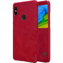 NILLKIN for Xiaomi Redmi Note 5 Pro Crazy Horse Texture Horizontal Flip Leather Case with Card