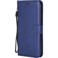 5dc23012bd Δερμάτινη Θήκη Πορτοφόλι με Βάση Στήριξης για iPhone XS Max 6.5 ίντσες -  Μπλε