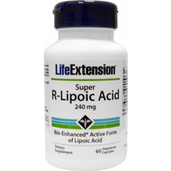Life Extension Super R-Lipoic Acid 240mg 60s