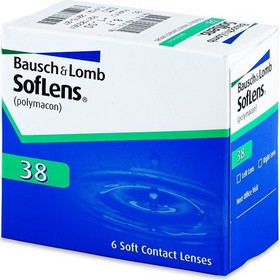Bausch & Lomb Soflens 38 6Pack Μηνιαίοι