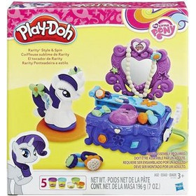 HASBRO PLAY-DOH MY LITTLE PONY - RARITY STYLE & SPIN PLAYSET (B3400)