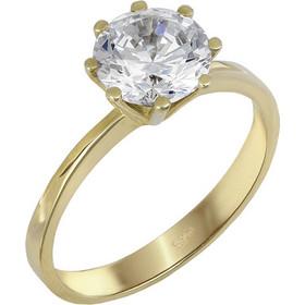 Μονόπετρο δαχτυλίδι με ζιργκόν χρυσό 14Κ 023830 023830 Χρυσός 14 Καράτια f104067822c