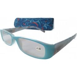 Γυαλιά Πρεσβυωπίας +3.00 (με γαλάζιο κοκάλινο σκελετό) 158a309beb3