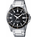 Casio Collection Neobrite Black Dial & Steel Bracele MTP-1290D-1A2VEF