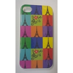 Apple iPhone 4/4S - Θήκη TPU Gel Eiffel Love Paris (OEM)