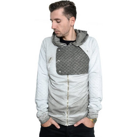 568b5591e94d PROJECT double face hoodie H5HO210CO grey