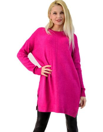 pink woman ρουχα - Φορέματα Potre  aa391ae5843
