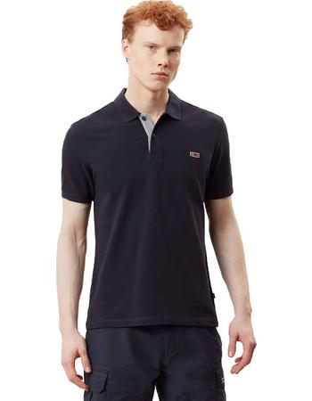 Napapijri Men s Short Sleeve Polo Taly - Ανδρικό Μπλουζάκι N0YIJJ176 81a2df348a6