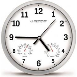 Ρολόι Τοίχου Esperanza Χρώματος Λευκό EHC016W f9462668876