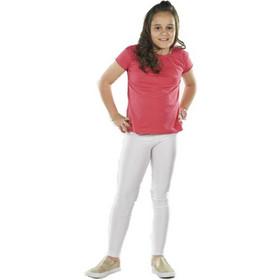 22b6f4a6b70 Παιδικό κολάν λύκρα γυαλιστερό Λευκό