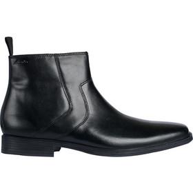Clarks μποτάκια tilden zip black leather 4d551c3cad3