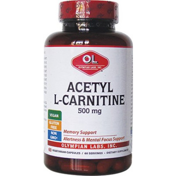 Olympian Labs Acetyl L-Carnitine 500mg 60s