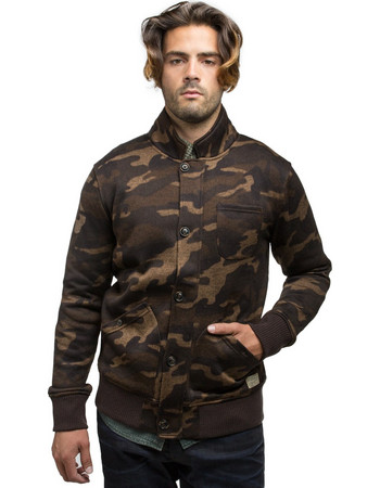 Dstrezzed Bomber Jacket Camo Sweat (211075) 25f934598d6