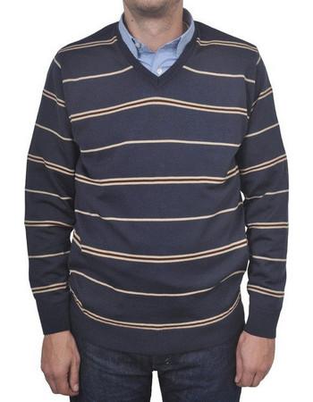 57a963777e8c Ανδρική Πλεκτή Μπλούζα Articulate Bardas - RAFBLUE