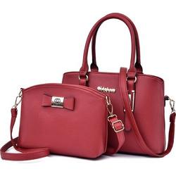 2 in 1 PU Leather Litchi Texture Women s Handbag Single-shoulder Bag  Messenger Bag ( 38e7d6bc51b