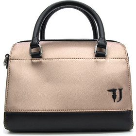 ec744417be T-EASY CITY BAULETIO SM ECOLEATHER METAL ΤΣΑΝΤΑ ΓΥΝΑΙΚΕΙΑ TRUSSA  75B00657-9Y099997-M650