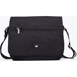 f266d9c230 Τσάντα χιαστί ταχυδρόμου ύφασμα με δέρμα.