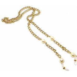b36b995ccc Αλυσίδα γυαλιών με πέρλες - Χρυσό