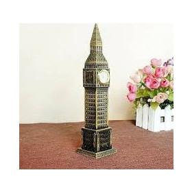 Μεταλλικό σουβενίρ Big Ben με λειτουργικό Ρολόι 410585639b8