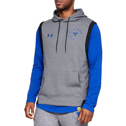 57d32cf70396 Under Armour UA x Project Rock Double Knit Sleeveless Hoodie 1345579-035