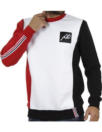 Ανδρικό Μπλούζα Φούτερ PONTE ROSSO 18-2043 COLOUR Λευκό 2eb6228c36b