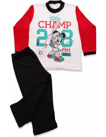 Minerva Disney Baby Mickey Little Champ Κόκκινο dd0f1de6173