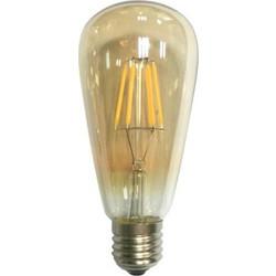 Diolamp Λάμπα LED Filament E27 6 Watt 230V 610Lm Edison
