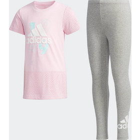 b29d3d871dc adidas Tee-and-Tights Set - Παιδικό Σετ για Κορίτσι DW4026