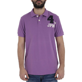 4e0331e70f34 Ανδρικές Μπλούζες Polo Μωβ