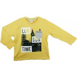 47c2ad901fa Παιδική Μπλούζα Sprint 21681403 Μουσταρδί Αγόρι