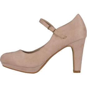 TOPSHOES K441 ΓΟΒΕΣ NUDE ΜΕ ΜΠΑΡΕΤΑ a6554d35930