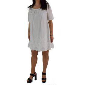 6deab110d4b5 Γυναικείο Φόρεμα Toi Moi 50-1952-15 Λευκό toimoi 50-1952-15 leuko