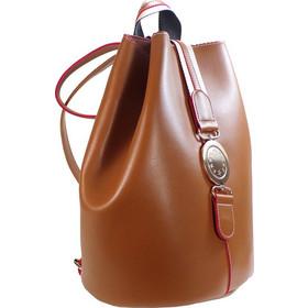 4ef60b8c47 FRNC FRANCESCO Τσάντα Γυναικεία Πλάτης-Backpack 563 Ταμπά Δέρμα 44966