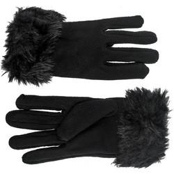 Γάντια fleece με γούνινο τελείωμα e08994f6ce1