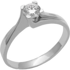 Λευκόχρυσο μονόπετρο δαχτυλίδι 14 καρατίων DXA18 1c7ec9b8c58