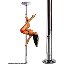 Στύλος Pole Dancing XPERT NX 40mm Set Chrome CR X-Pole FNX40CR