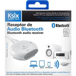 Ksix AUDIO RECEIVER CONNECT & PLAY WITH BLUETOOTH