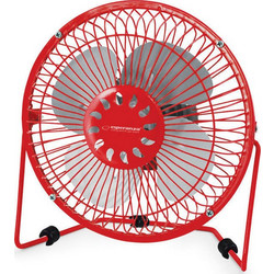 "ESPERANZA ESP 6"" USB COOLER FAN YUGO RED EA149R ΑΝΕΜΙΣΤΗΡΑΣ ΚΟΚΚΙΝΟΣ"