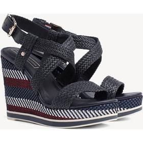 329972cc716 Παπούτσια Tommy Hilfiger Raffia Wedge FW0FW03942.