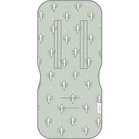 4e80a12e1dc Pirulos Στρωματάκι Καροτσιού Μονής Όψεως Cactus W/Mint