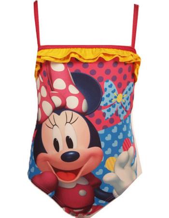 Παιδικό Μαγιό Ολόσωμο Minnie Mouse Disney Ροζ Χρώμα cfdec265fb4