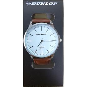 6b29af2bf5 Dunlop Unisex Αναλογικό Ρολόι Χειρός με Λευκό Καντράν